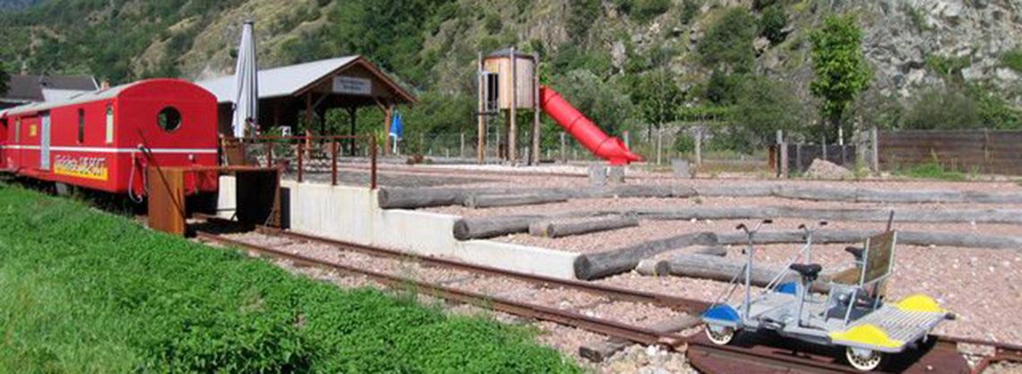 Jugend- und Erlebnisbahnhof Naturns