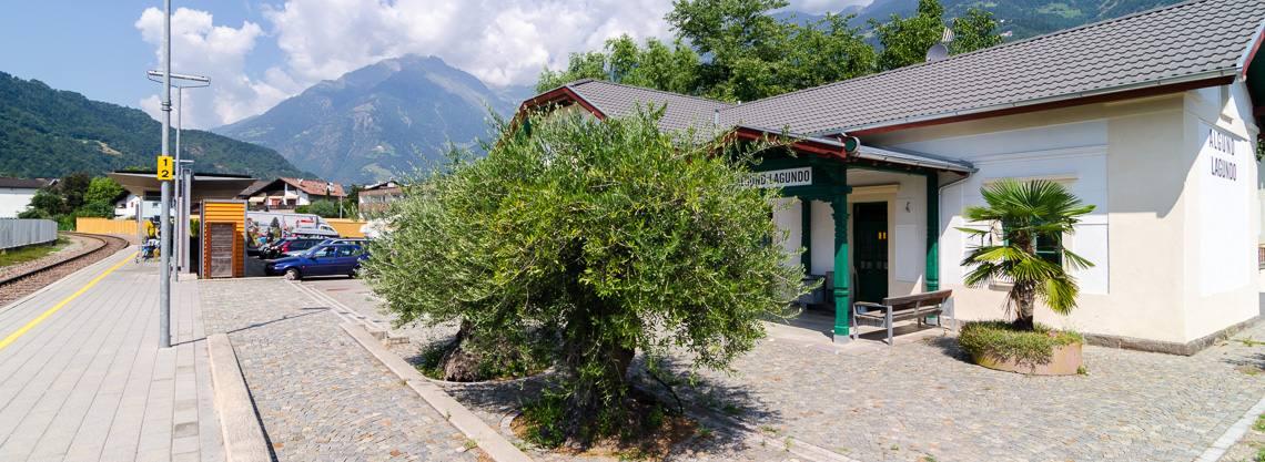 Bahnhof Algund