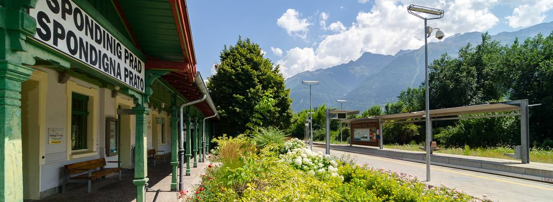 Bahnhof Spondinig