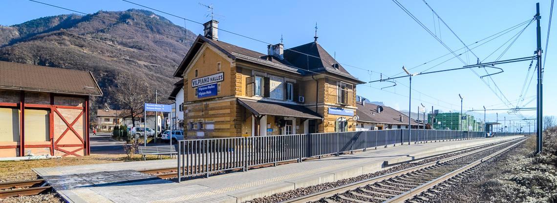 Bahnhof Vilpian / Nals